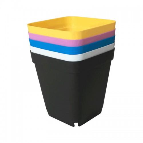 sc 1 st  睿品育苗容器 & Gallon Small Square Plastic Flower Pot